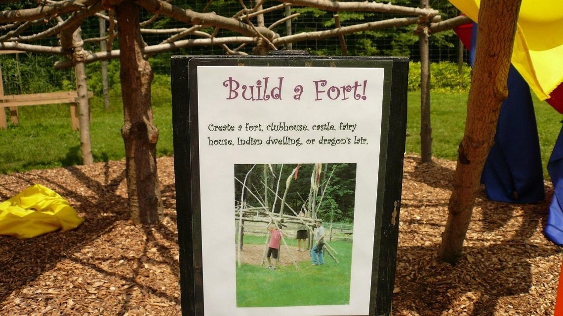 Nature Play Poster Sign