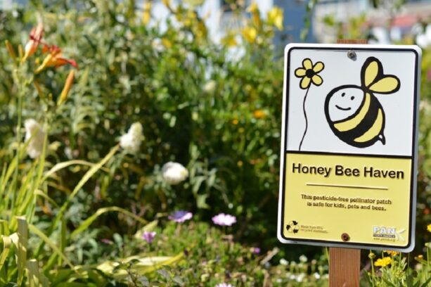 Honey Bee Haven Sign